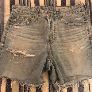 AG Vintage Jean Shorts